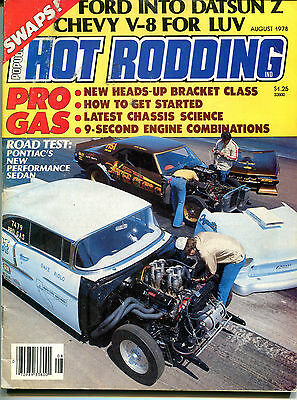 Hot Rodding Magazine August 1978 Pontiac's New Performance Sedan VGEX 122215jhe