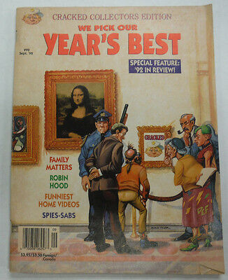 Cracked Magazine The Year's Best Family Matters September 1992 060915R