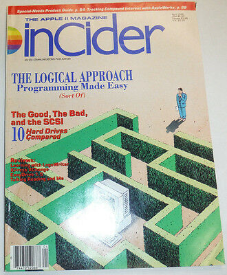 Apple InCider Magazine The Logical Approach 10 Hard Drives April 1989 111514R