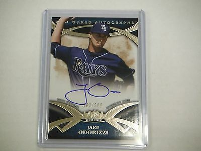 2014 Topps Tier One New Guard Autograph Card Jake Odorizzi #NGA-JOD 203/399 TJ1