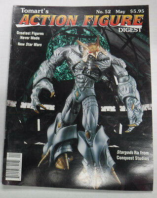 Action Figure Digest Magazine Stargods Conquest Studios May 1998 No.52 082115R