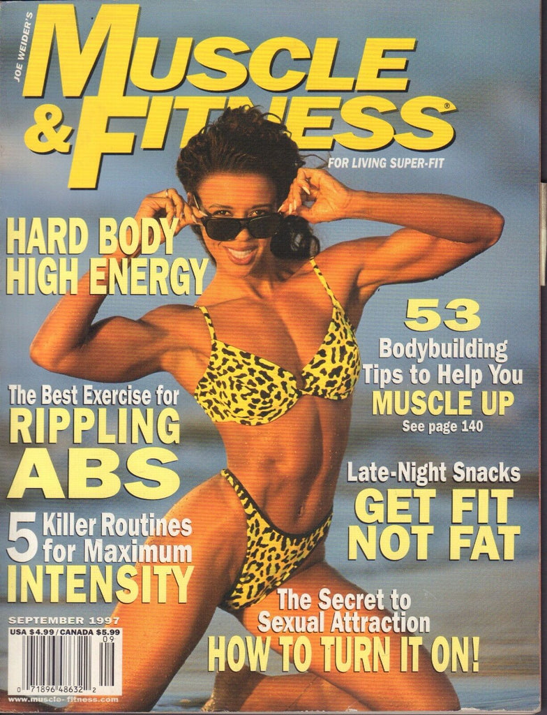 Muscle & fitness September 1997 Saryn Muldrow, Bill Gieger 062117nonDBE