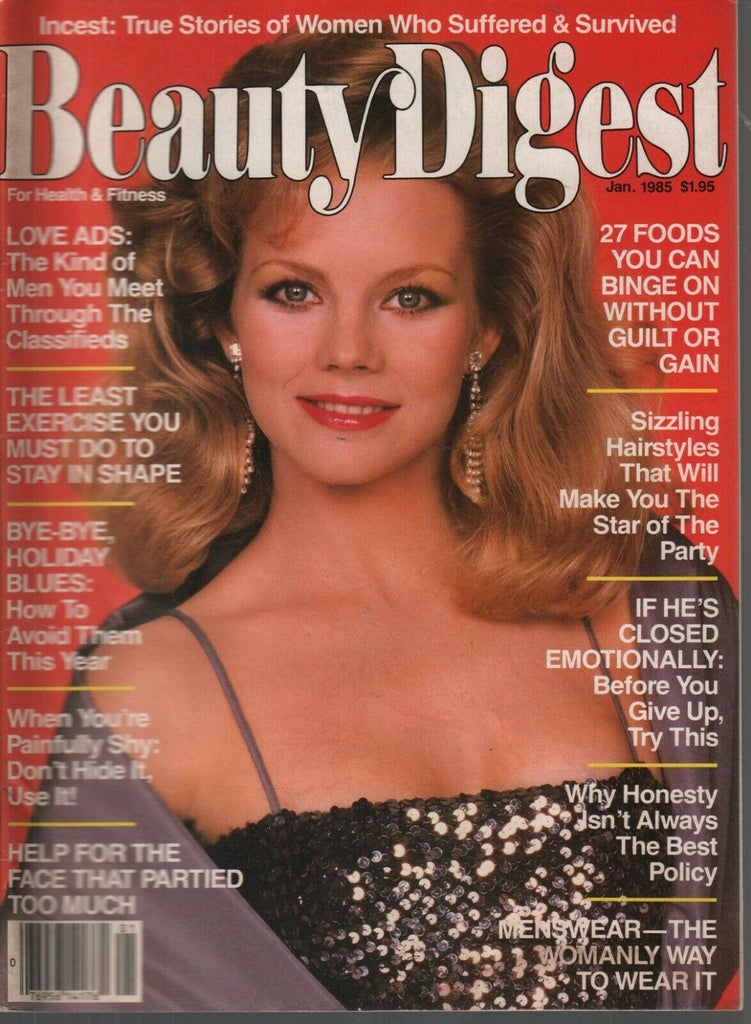 Beauty Digest January 1985 Vintage Beauty Magazine 090919AME2