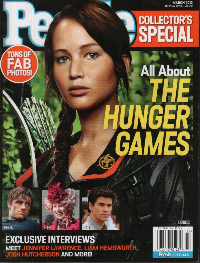 People March 2012 Hunger Games Jennifer Lawrence Liam Hemsworth 110518DBE