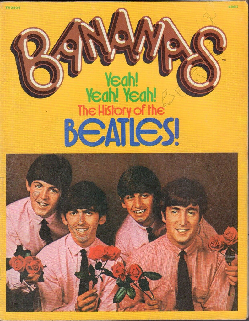 Bananas #8 1976 The Beatles VG 010417DBE2