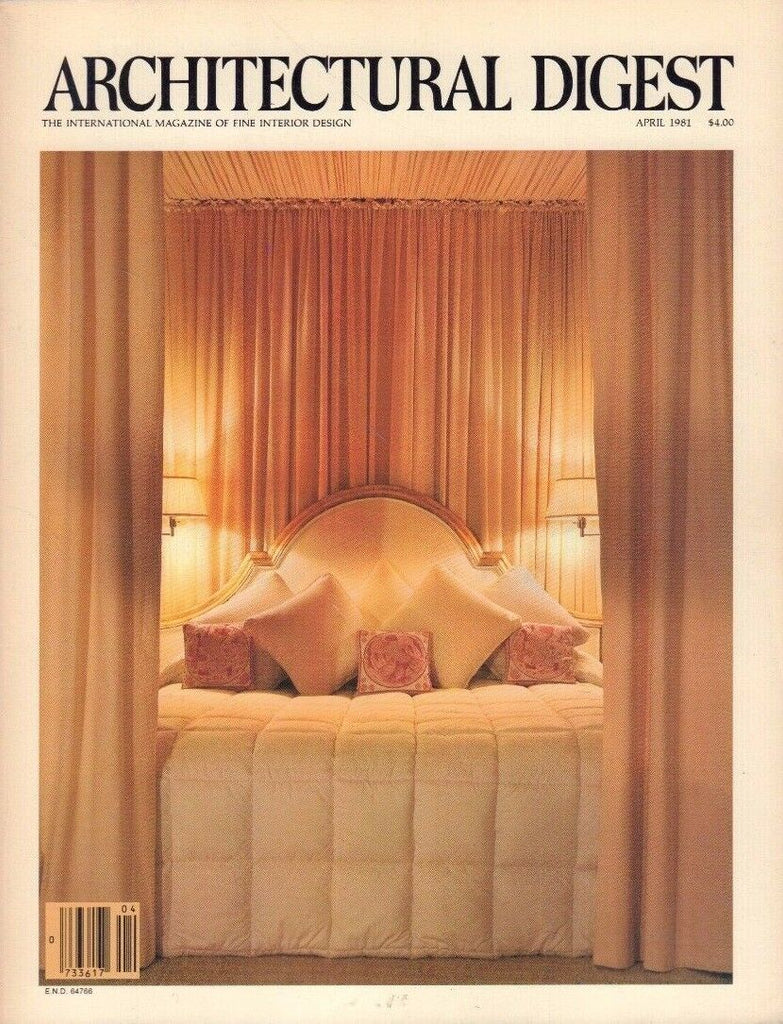 Architectural Digest April 1981 Tony Cloughley 021517DBE3