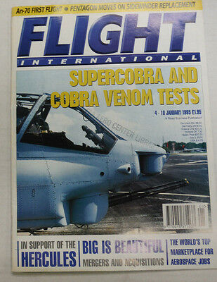 Flight International Magazine Herules Supercobra January 1995 FAL 060915R2