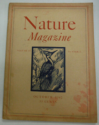 Nature Magazine Rediscovered Wood Fall Flowers October 1942 071615R2