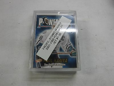 2001-02 Pacific Atomic Powerplay Hockey Set #1-36 jhock