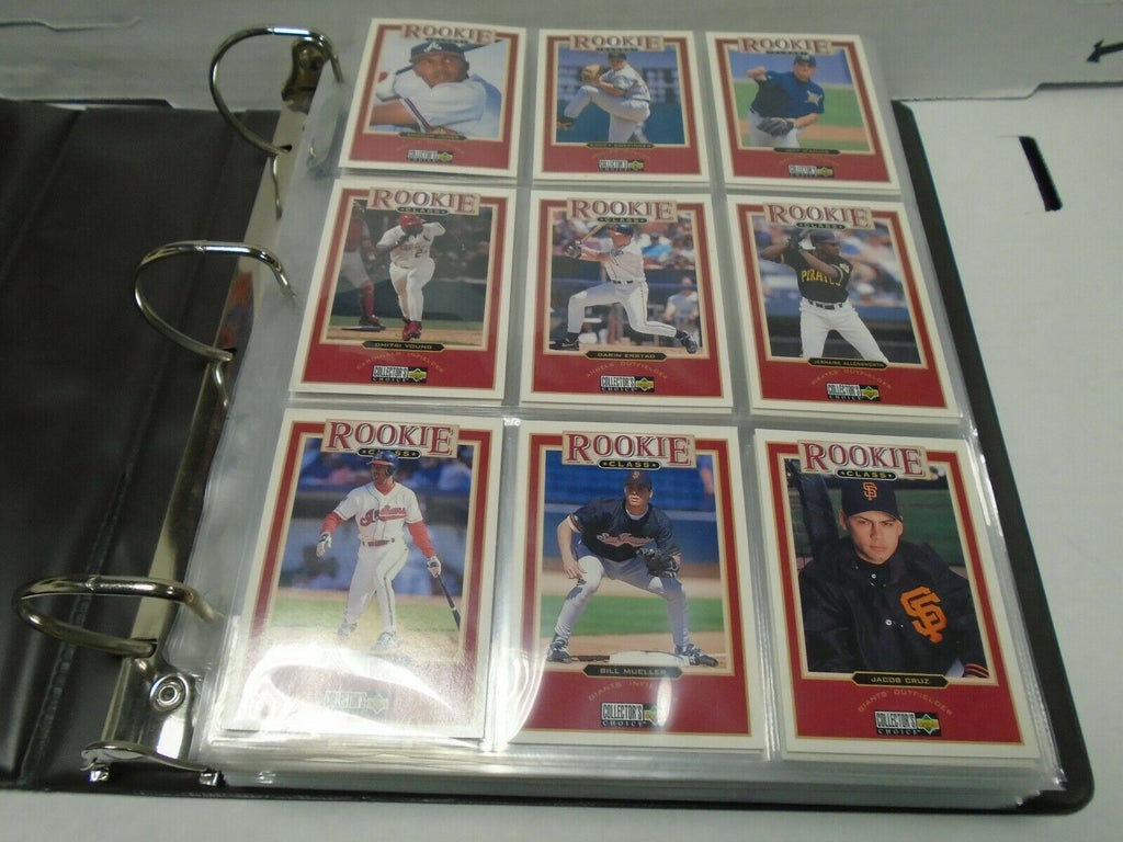 1997 Upper Deck Collector's Choice Baseball Complete 506 Card Set 121919AMCS2
