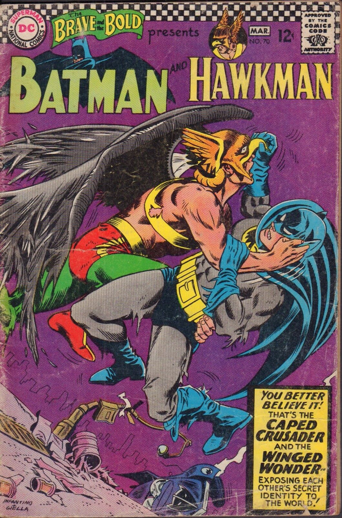 The Brave and the Bold No.70 Batman and Hawkman 120916DBC