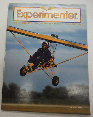 EAA Experimenter Magazine Oshkosh & Ultralight Pilot October 1990 071515R