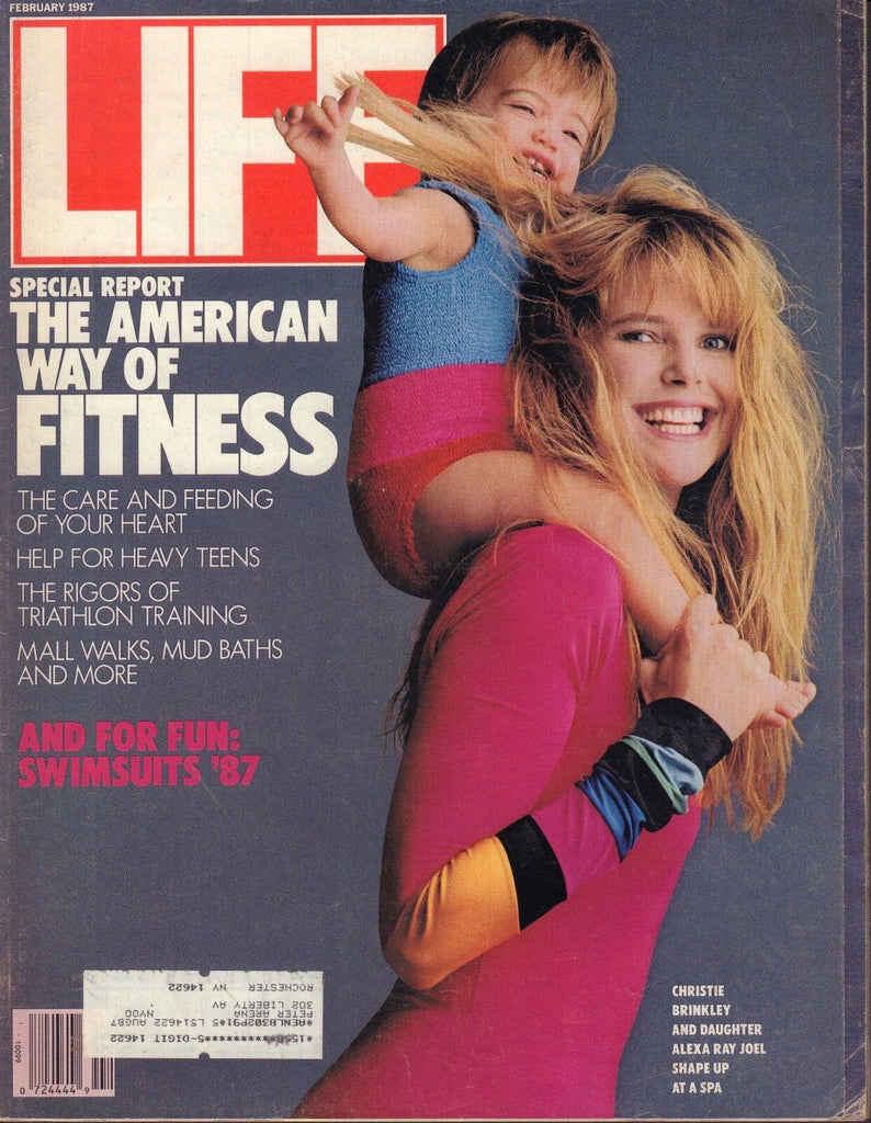 Life Magazine February 1987 Christie Brinkley 072317nonjhe