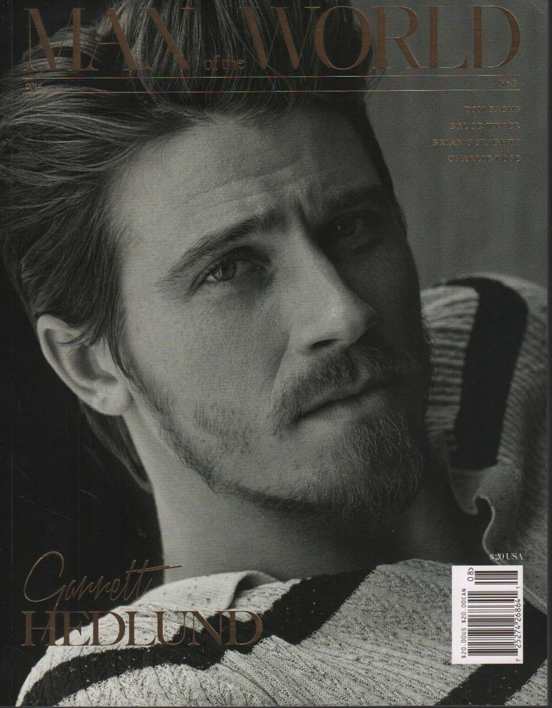 Man of the World No.8 2014 Garrett Hedlund Bruce Weber Tom Sachs 102618DBF