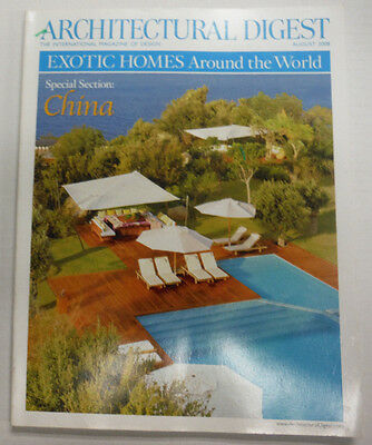 Architectural Digest Magazine China Island Paradise Found August 2008 070615R