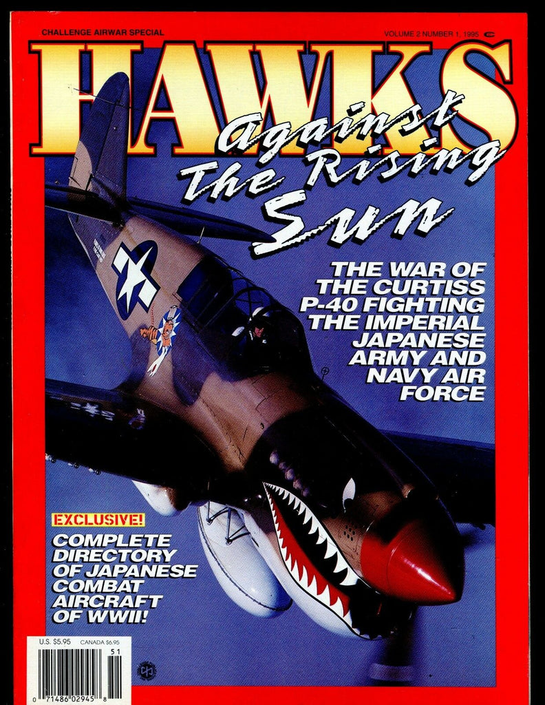 Hawks Magazine 1995 Curtiss P-40 EX No ML 112616jhe
