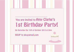 Kids Party Invite 5001 - Jayceefinecards