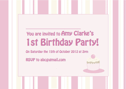 Kids Party Invite 5001 - Jaycee