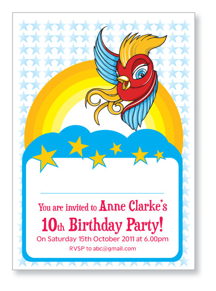 Kids Party Invite 5021 - Jayceefinecards