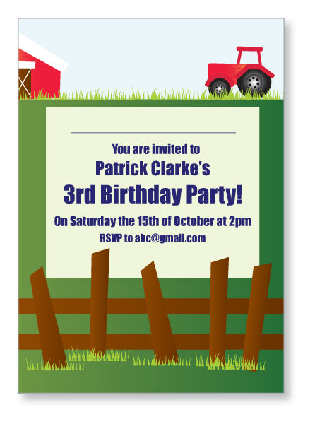 Kids Party Invite 5024 - Jayceefinecards