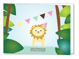 Kids Party Invite 5041 Folded - Jayceefinecards