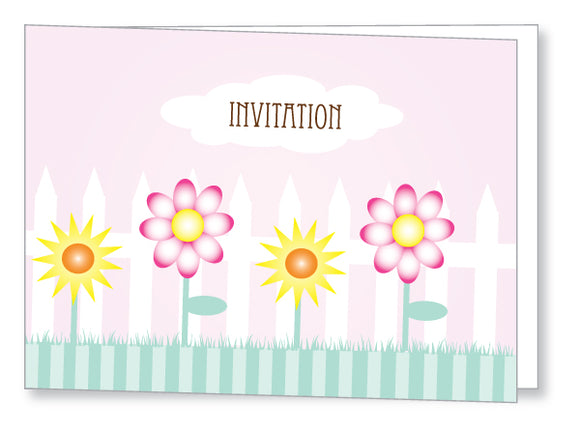 Kids Party Invite 5042 Folded - Jayceefinecards
