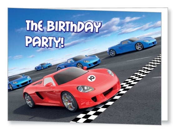 Kids Party Invite 5043 Folded - Jayceefinecards