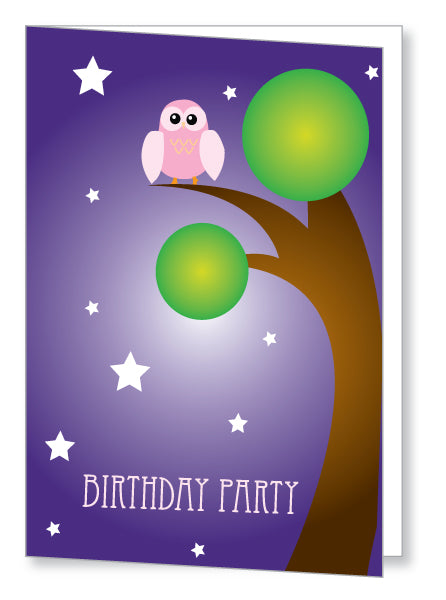 Kids Party Invite 5061 Folded - Jaycee