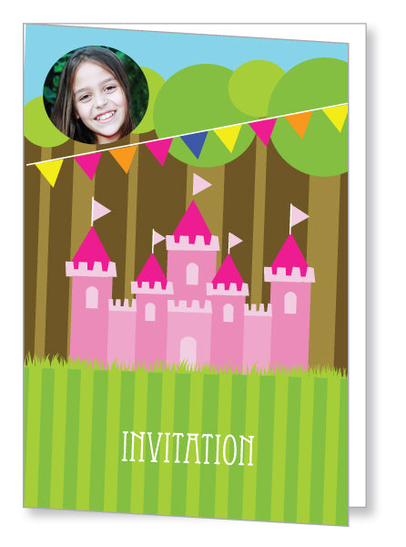 Kids Party Invite 5062 Folded - Jayceefinecards