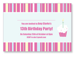Teen Party Invite 5121 - Jaycee