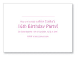 Teen Party Invite 5142 Folded - Jayceefinecards