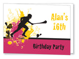 Teen Party Invite 5144 Folded - Jayceefinecards