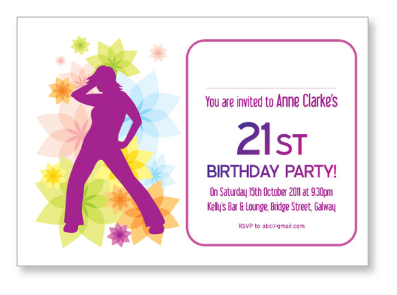 20s to 30s Party Invite 5201 - Jayceefinecards