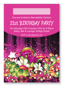 20s to 30s Party Invite 5222 - Jaycee