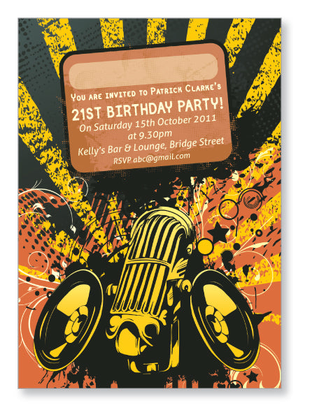 20s to 30s Party Invite 5223 - Jayceefinecards