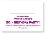 20s to 30s Party Invite 5242 Folded - Jayceefinecards