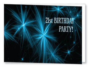 20s to 30s Party Invite 5247 Folded - Jaycee
