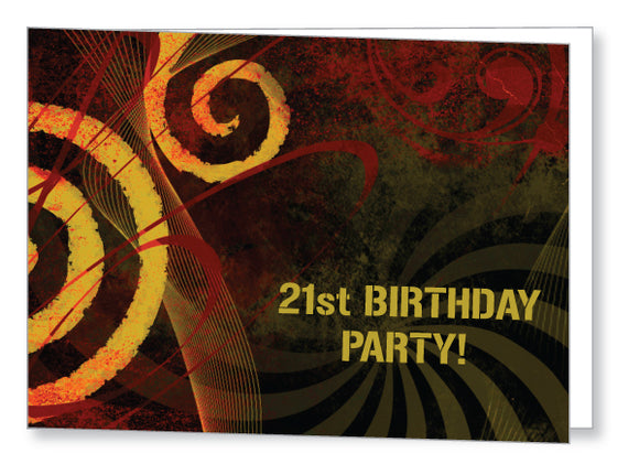 20s to 30s Party Invite 5248 Folded - Jayceefinecards
