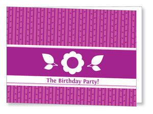 40s to 50s Party Invite 5346 Folded - Jaycee