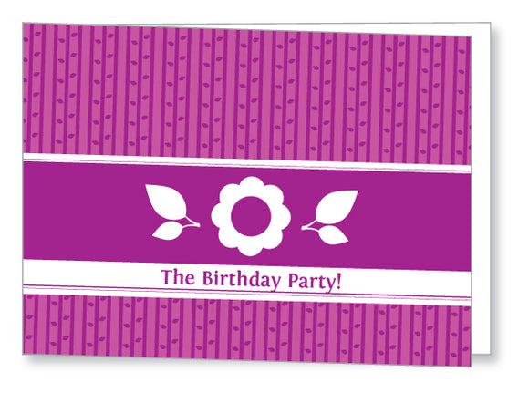 40s to 50s Party Invite 5346 Folded - Jayceefinecards