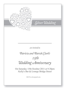 Wedding Anniversary Invite 5402 - Jayceefinecards