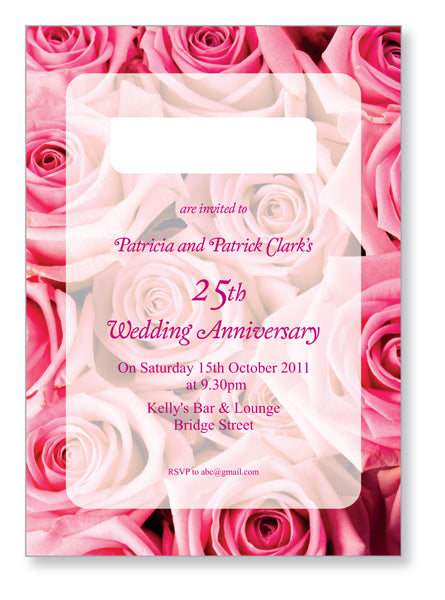 Wedding Anniversary Invite 5404 - Jayceefinecards