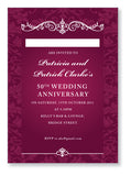 Wedding Anniversary Invite 5405 - Jayceefinecards