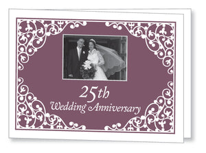 Wedding Anniversary Invite 5441 Folded - Jayceefinecards