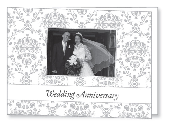 Wedding Anniversary Invite 5443 Folded - Jaycee