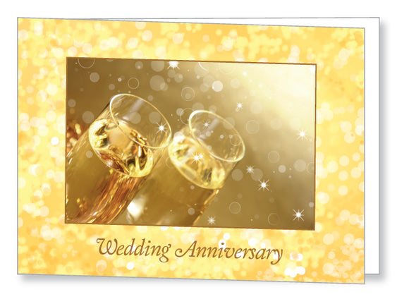 Wedding Anniversary Invite 5444 Folded - Jayceefinecards