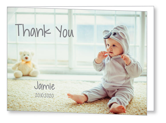 Baby Card 5548 Folded - Jayceefinecards