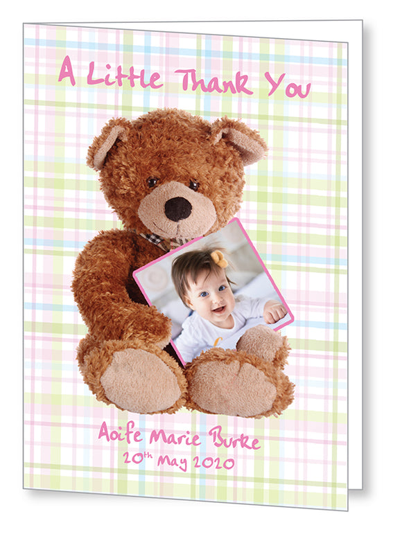 Baby Card 5565 Folded - Jayceefinecards