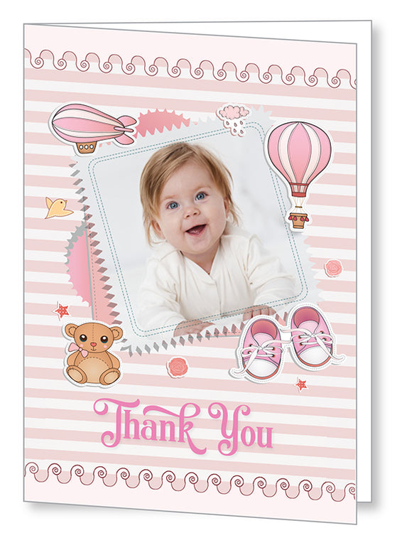 Baby Card 5566 Folded - Jayceefinecards