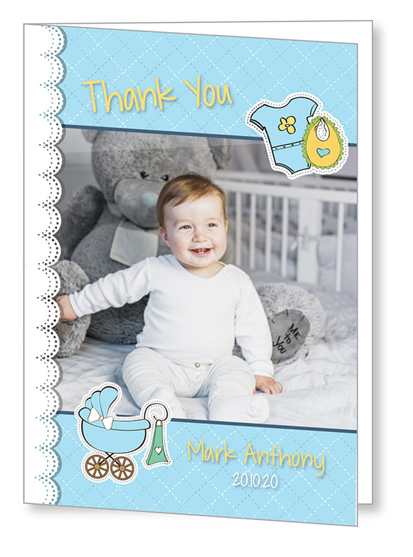 Baby Card 5567 Folded - Jayceefinecards